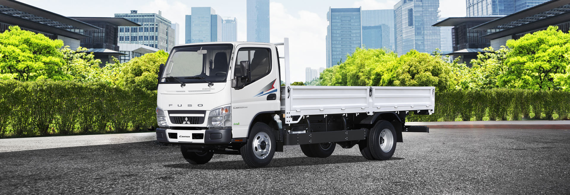 Banner Fuso Canter 2020